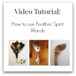 how to use feather smudge wands